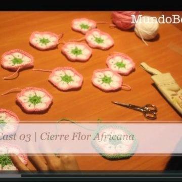 Flor Africana Crochet III (Nivel Avanzado)