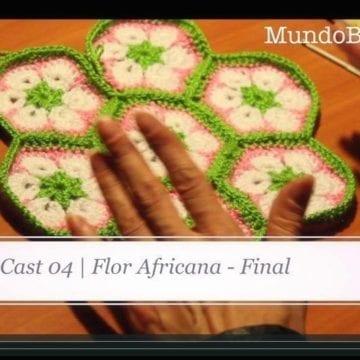 Flor Africana Crochet IV – Final (Nivel Avanzado)